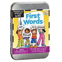 Kids Magnetic Poetry - First Words