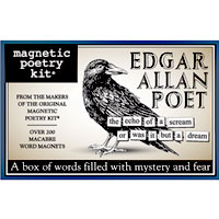 Edgar Allen Poet Poetry Kit