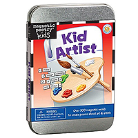 Magnetic Poetry Kids - Kid Artist