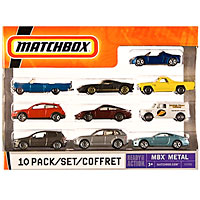 Matchbox 10 Pack Vehicle Assortment