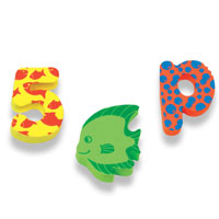 Sea & Learn Bath Shapes