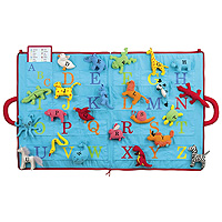 The ABC of Animals Activity Mat