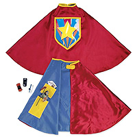 Secret Pocket Cape Super Hero