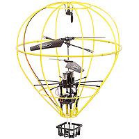 Invento RC Hot Air Balloon - Yellow