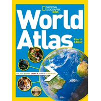 National Geographic Kids World Atlas - 4th ed.
