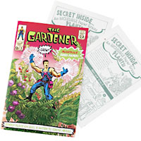 Comic Book Plantable Paper
