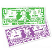 Greenback Plantable Paper