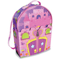 Doll House Bring Along Backpack