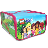 LEGO Friends ZipBin Heartlake Place Transforming Toy Box