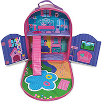 Everyday Princess ZipBin Dollhouse Backpack with One Doll