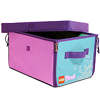 LEGO Friends ZipBin 1000 Brick Toy Box