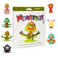 Build Your Own Bobble Head - Monsters