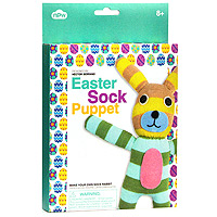 Easter Sock Puppet