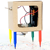 Scribbler Drawing Robot Kit