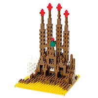 Nanoblock Sites to See - Set 2