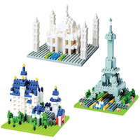 Nanoblocks Sites to See Set of 3