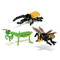 Nanoblock Mini Insects