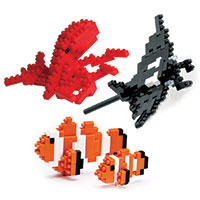Nanoblock Under the Sea