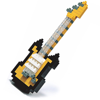 Nanoblock Gold Electric Guitar