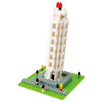 Nanoblock Tower of Pisa