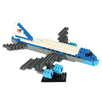 Nanoblocks Sites to See Plus - Air Force One