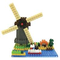 Nanoblocks Sites to See Plus - Windmill