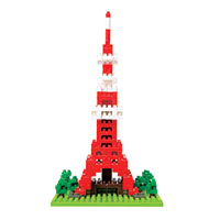 Nanoblocks Sites to See Plus - Tokyo Tower