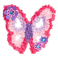 Plushcraft Butterfly Wall Art