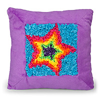 PlushCraft Superstar Pillow