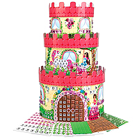 Sticky Mosaics Princess Palace Treasure Box