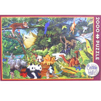 Cobble Hill Puzzles Two by Two - 2000 pc