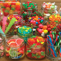Cobble Hill Puzzles Colorful Candy - 1000 pc