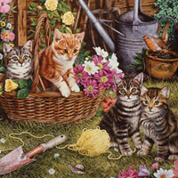 Cobble Hill Easy Handling Puzzle Kittens - 275 pc
