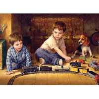 Cobble Hill Easy Handle Puzzle Attic Treasure - 275 pc