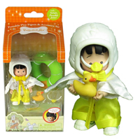 Madeline the Duck Poseable Figure Set