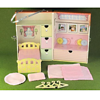 Bedroom Cottage Play & Carry Case