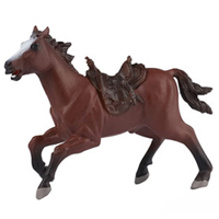 Cowboy's Horse with Saddle