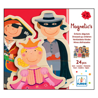 Djeco Wooden Magnetics - Dressed-Up Children