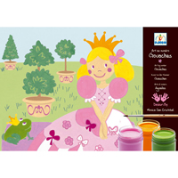 Djeco Princess Marguerite Paint Set