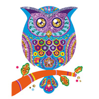 Djeco Animals Glitter Board