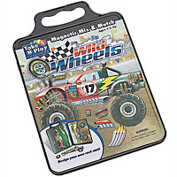 Wild Wheels Activity Tin