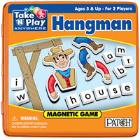 Magnetic Travel Hangman