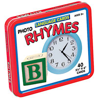 Language Cards - Rhymes