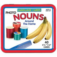 Language Cards - Nouns (Around the House)