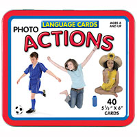 Language Cards - Actions