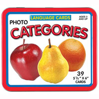 Language Cards - Categories