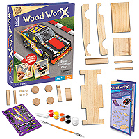 Wood Worx Track Car Kit