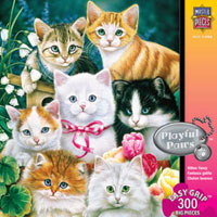 Playful Paws 300 pc Easy Grip Puzzle