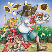 500 pc Square Forever Young - Hobby Horse