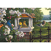 1000 pc Panoramic - Springtime Melody